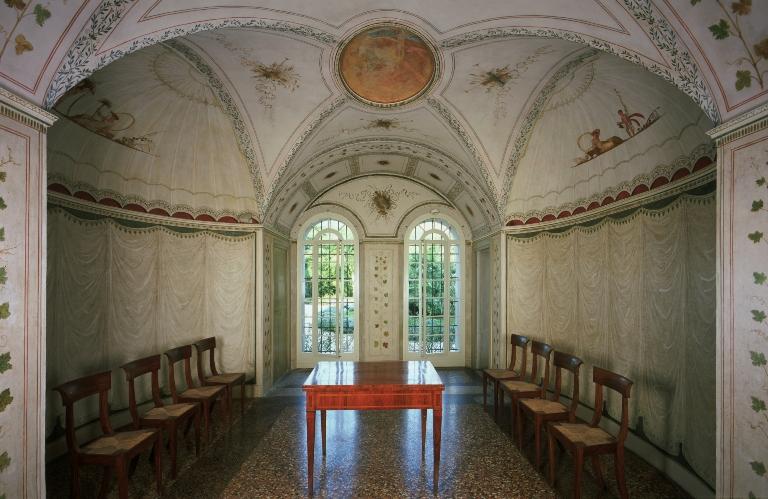 Percorso multimediale multimedia palazzo milzetti museo nazionale dell 39 et neoclassica in - Sala da pranzo dwg ...